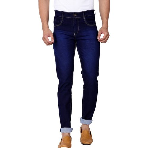 Ragzo Slim Men Dark Blue Jeans
