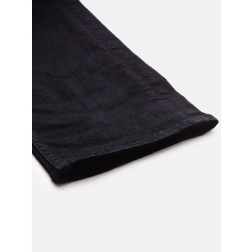 Calvin Klein Jeans Men Black Slim Fit Mid-Rise Clean Look Stretchable Jeans