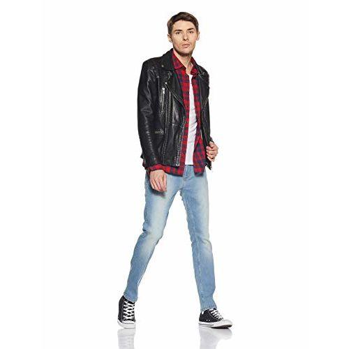 Amazon Brand - Inkast Denim Co. Men's Slim Straight Fit Stretchable Jeans