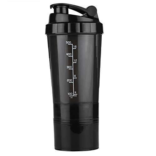 HAANS Spider Protein Shaker Bottle, 500ml