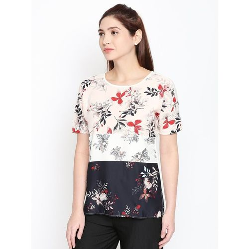 Annabelle by Pantaloons Blush Printed Top