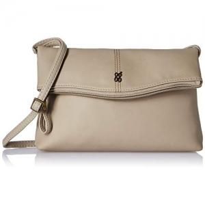 Baggit Beige Synthetic Solid Sling Bag