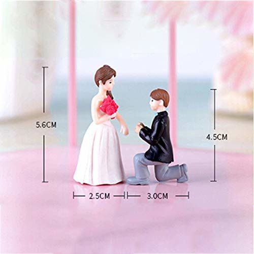 Chocozone Love Miniatures I Love You Gifts for Girlfriend Proposal Gift Valentine Gift for Girlfriend Decoration Piece ( 1 Set)