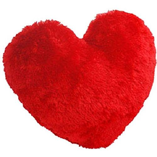 Saugat Traders Soft Toy Teddy Bear in Heart, 25cm (Red)