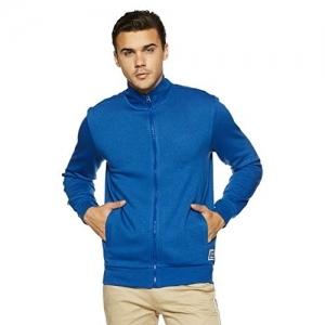 Symbol Cobalt Blue Polyester Round Neck  Sweatshirt