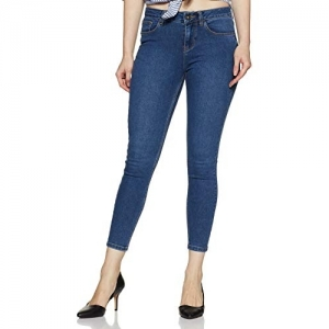 Jealous 21 Blue Cotton Skinny Jeans