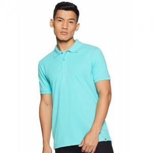 Amazon Brand Pink Cotton Symbol Polo T-Shirts