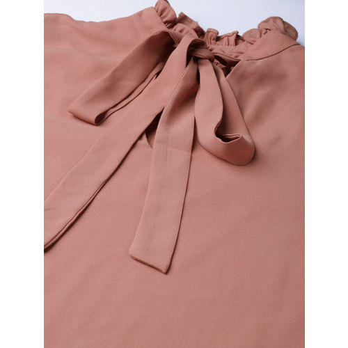 20Dresses Women Dusty Pink Solid Formal Top