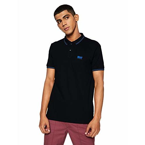 Beat London by Pepe Jeans Men's Solid Regular Fit T-Shirt