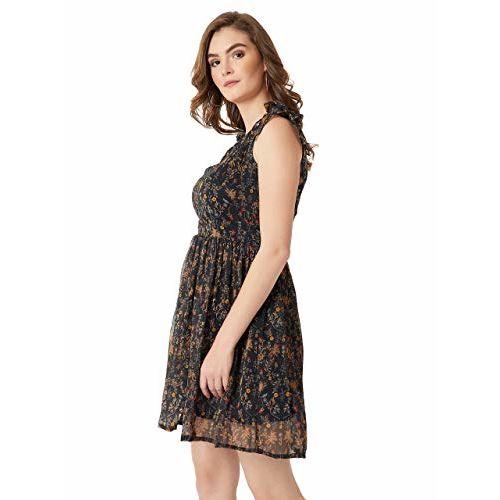 Miss Chase Women's Chiffon Skater Dress