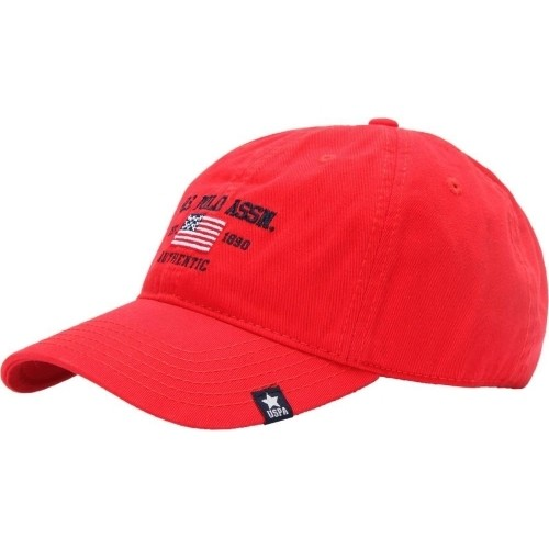 c798d728564 Buy U.S. Polo Assn. Red Cotton Round Cap online
