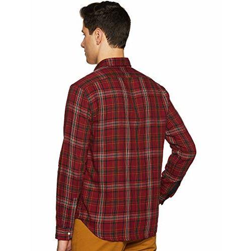 Celio* Men's Checkered Regular Fit Casual Shirt