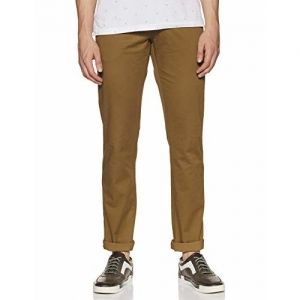 Allen Solly Men's Slim Fit Casual Trousers