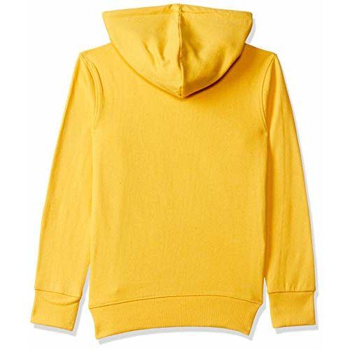 ESNINO Yellow Cotton casual Sweat Shirt