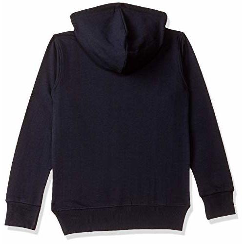 T2F Boy's Black Cotton Sweatshirt