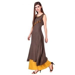 SRESHEE  Cotton Designer Tassels Kurti with Palazzo Pant Set