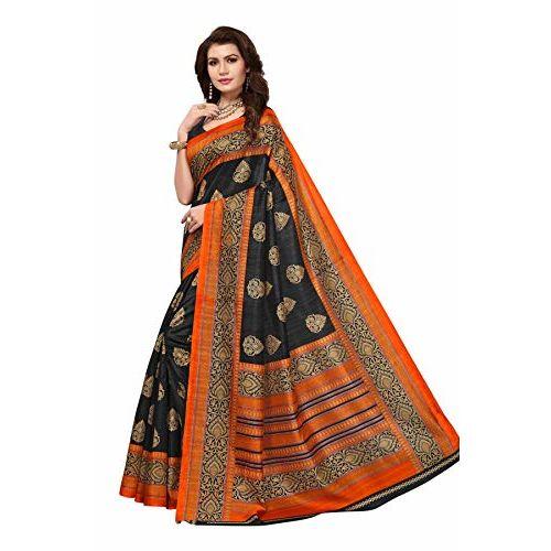 Winza Designer Art Silk Saree with Blouse Piece