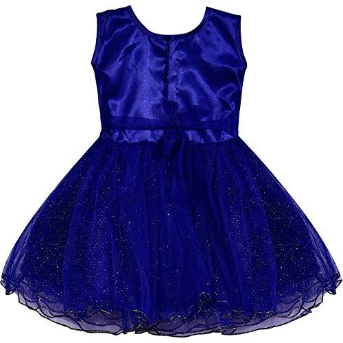 Wish Karo Baby Girls Net Party Wear A-line Frock Dress
