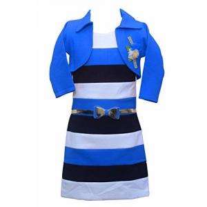 Sky Heights Embellishment Jacket Fit & Flare Middi Dress
