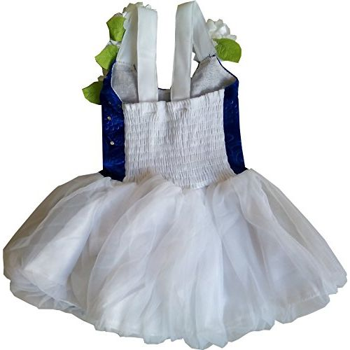 MPC Cute Fashion Baby Girl's Velvet and Soft Net Frock Dress for