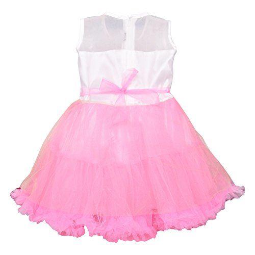 Wish Karo Baby Girls Net Frock Dress - (fe2502)
