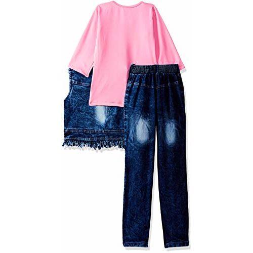 Arshia Fashions Girls' Maxi Dress (GR00261_Pink_2-3 Years)