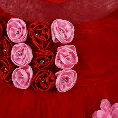 Wish Karo Baby Girls Frock Birthday Dress for Girls - Net - (fe2161)
