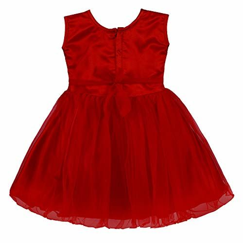 Wish Karo Baby Girls Frock Birthday Dress for Girls - Net - (fe2161)