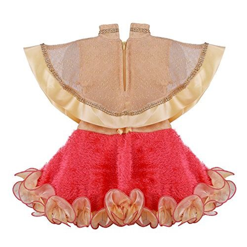 Generic Kids Girl Dress Poncho Style Frock for Baby Girls