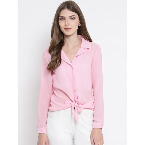 Oxolloxo Women Solid Casual Multicolor Shirt