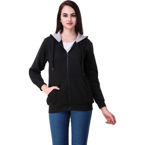 Christy World Full Sleeve Solid Women Jacket