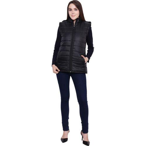 My Swag Sleeveless Solid Women's Jacket