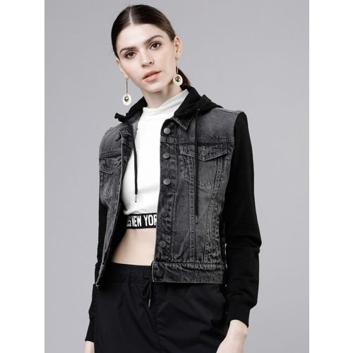 TOKYO TALKIES Full Sleeve Solid Women's Jacket