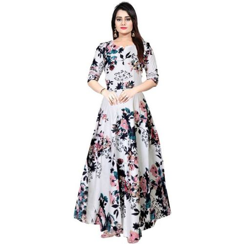 Lilaba Fashion Women Maxi Multicolor Dress