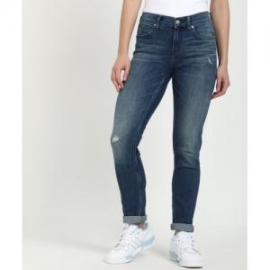 Calvin Klein Blue cotton Slim Jeans