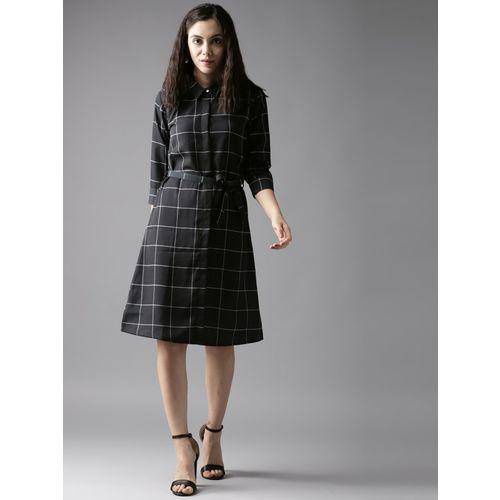 Moda Rapido Women Shirt Black Dress
