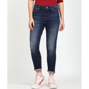 Calvin Klein dark Blue cotton Slim Jeans