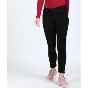 Calvin Klein black cotton Slim Black Jeans