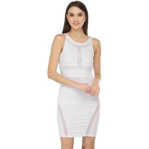 N-Gal Women Bodycon White Dress