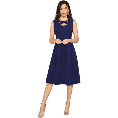 ILLI LONDON Women A-line Blue Dress