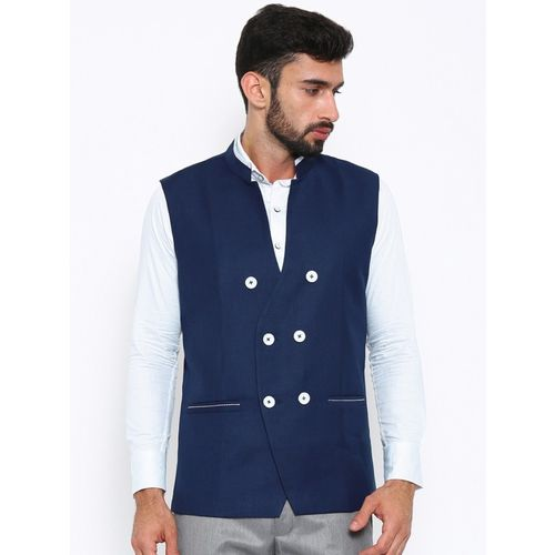 Shaftesbury London Solid Men Waistcoat