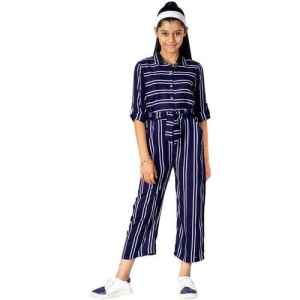 Naughty Ninos Striped Girls Jumpsuit
