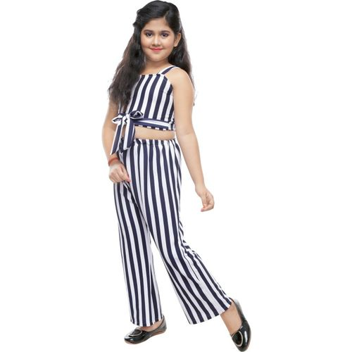 FTC FASHIONS Striped Girls Jumpsuit