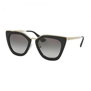 PRADA Black Frame Unisex Sunglasses (0Pr54Ss 7Ax5Z1 59 7AX5Z1, Polar Grey)