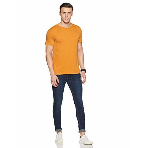 Amazon Brand - Symbol Men's Regular fit T-Shirt (Combo Pack of 5)