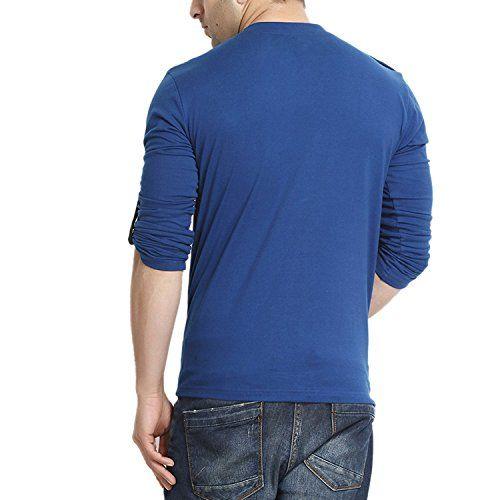 GRITSTONES Men's Cotton Round Neck T-Shirt