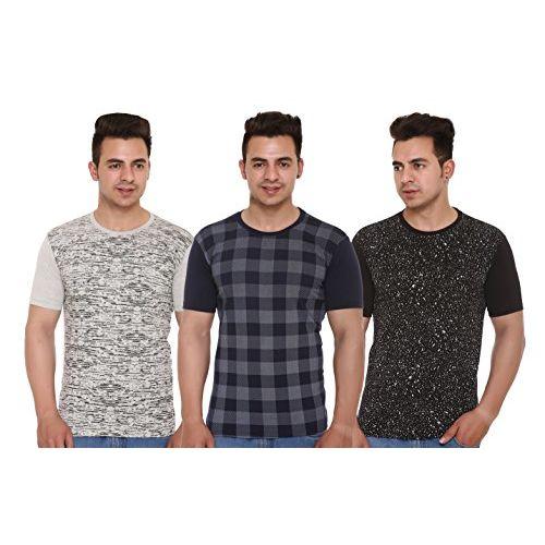 Shaun Men's Cotton T-Shirts (Pack of 3)