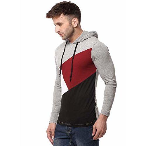 Cenizas Men's Plain Slim Fit T-Shirt