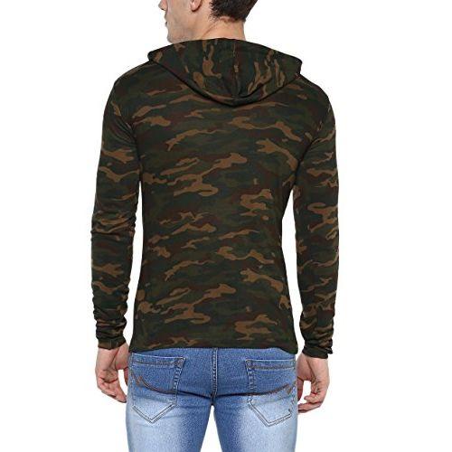 Urbano Fashion Men's Printed Slim fit T-Shirt