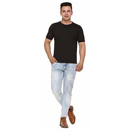 SHAUN Men's Solid T-Shirt